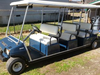 Club Car. Limousine. Brand New Batteries. REDUCE TO 4.900 CASH for Sale in Greenville,  SC