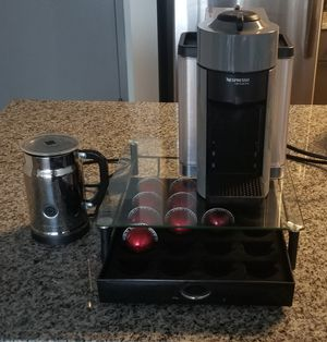 Nespresso Virtuoline Coffee Maker Bundle - Barely Used for Sale in Atlanta, GA