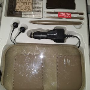 Nintendo DS Starter Kid, Car Charger, Cases & Scrn Protectors, Ear Buds, Stylus, & Clothes for Sale in Green Bay, WI