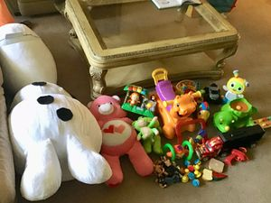 Bag of toys + large olaf for Sale in Levittown, PA