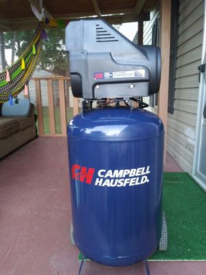 Compressor campbelll 20 gallones for Sale in Houston, TX