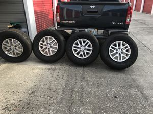 2019 Nissan frontier rims and tires for Sale in Tampa, FL