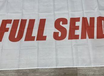 NELK BOYS FULL SEND 3 X 5 FLAG for Sale in Los Angeles,  CA