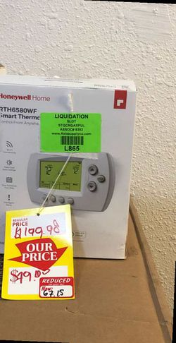 Honeywell thermostat MA for Sale in Long Beach,  CA