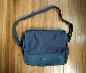 Vintage 90's Polo Ralph Lauren Sport side/messenger bag Navy Blue Retro USA for Sale in Wake Forest, NC