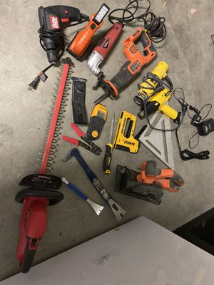Various Power Tools for Sale in Las Vegas, NV