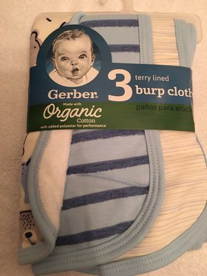 💙 Baby boy burp cloths 💙 for Sale in Springfield, VA