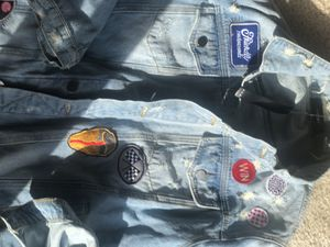 Amiri palm denim Metallica jacket for Sale in Washington, DC