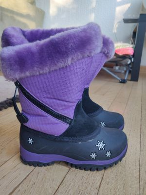 Baffin girls snow winter boots size 11 for Sale in Glenview, IL
