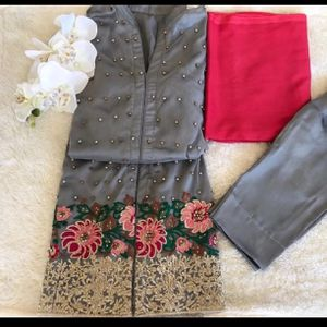 Pakistani Indian Shalwar Kameez Dress fancy party wedding casual outfit for Sale in Silver Spring, MD