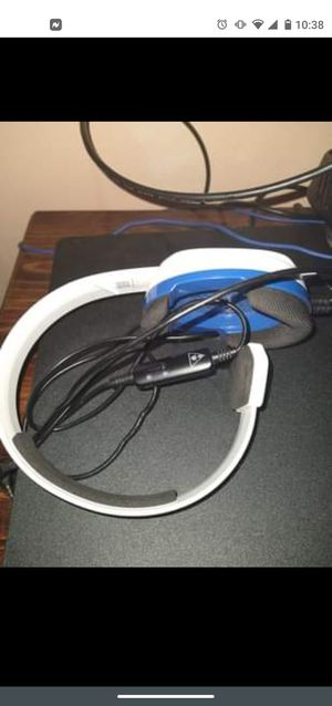 PS4 Turtle beach headset for Sale in Elgin, IL