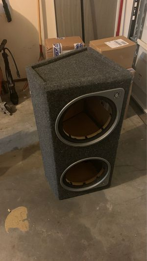 2x12 inch sub/speaker box for Sale in Virginia Beach, VA