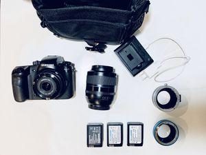NX1 Samsung DSLR 4K camera kit for Sale in Portland, OR