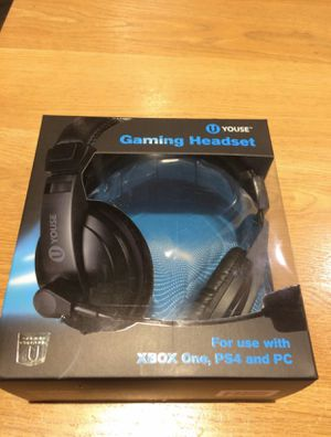 Gaming headset for PS4 and Xbox 1 also can be used for PC for Sale in West Palm Beach, FL