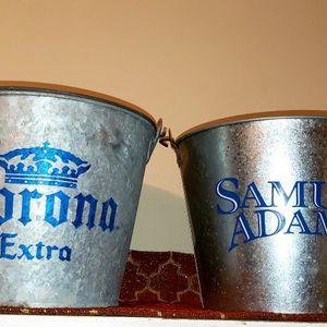 Beer Buckets Samuel Adam's Corona Extra for Sale in Apopka, FL