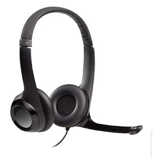 Logitech USB Headset H390 with Noise Cancelling Mic for Sale in New York, NY