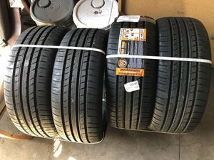 215/40/18 brand new tires need gone right now for Sale in Long Beach, CA