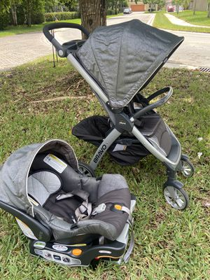 Chicco Bravo stroller and car seat for Sale in Coconut Creek, FL