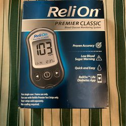 ReliOn Blood Glucose Test Kit (Like New) for Sale in Oklahoma City,  OK