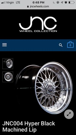 Jnc 004 rims 18in. X 8.5/9.5 with tire for Sale in Perris, CA