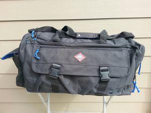 G h bass Maine duffle bag travel bag soft luggage heavy duty quality made great shape for Sale in Kalama, WA