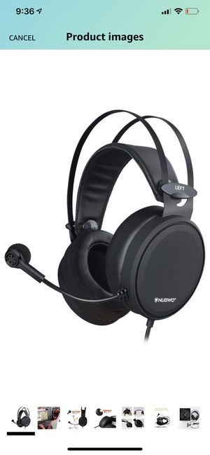 Wired Gaming headsets PS4 N7 Stereo Xbox one Headset Wired PC Gaming Headphones with Noise Canceling Mic , Over Ear Gaming Headphones for PC/MAC/PS4 for Sale in Suwanee, GA