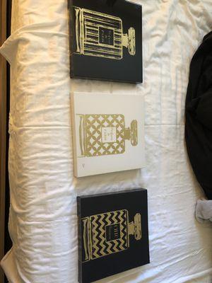 Paris theme room decor and rug for Sale in Hampton, VA