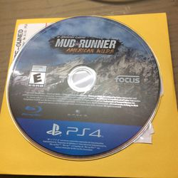 PS4 Mud Runner American Wilds for Sale in Hialeah,  FL