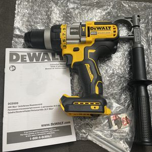 DEWALT 20v MAX (Gen2) Tool Connect Brushless 1/2 in. Hammer Drill/Driver with FLEXVOLT ADVANTAGE (Tool Only) New for Sale in San Diego, CA