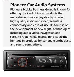 Pioneer DEH-1200MP CD Receiver for Sale in Winston-Salem, NC