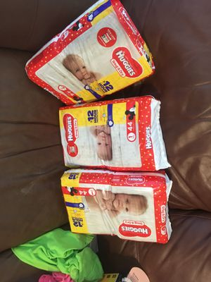 Huggies diapers size one for Sale in Holiday, FL