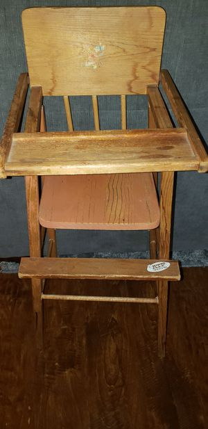 Antique doll highchair for Sale in Los Angeles, CA