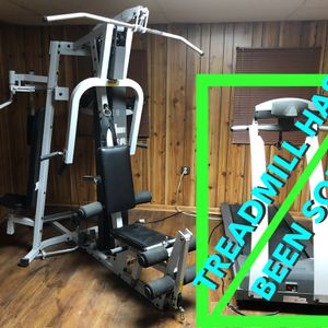 Hoist 3-1200 Home Multi Gym + MULTIPLE Fitness accessories & resistance band for Sale in FOX RV VLY GN, IL
