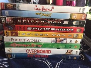 DVDS $2 each or 3 for $5 for Sale in Richmond, CA