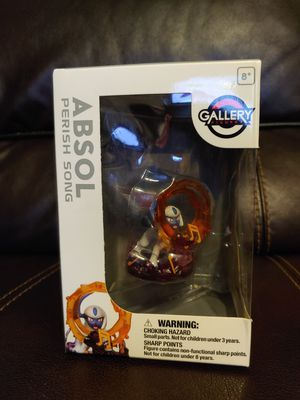 NEW Official Pokemon Center Pokemon Gallery Figure Absol Perish Song for Sale in Hawthorne, CA