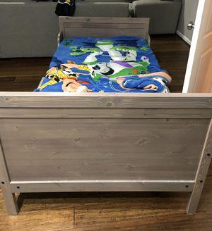 Ikea adjustable toddler twin bed for Sale in Aldie, VA