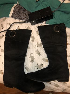 Black womens boots for Sale in Tomball, TX