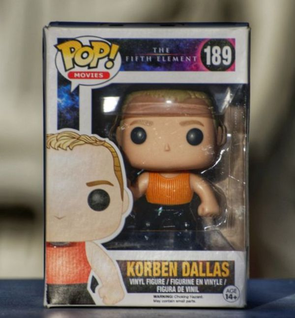 Funko POP Movies: The Fifth Element - Korben Dallas Toy Figure