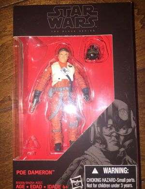 Black Series 3.75 inches Poe Dameron for Sale in San Diego, CA