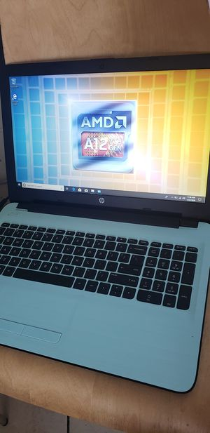 """HP LAPTOP COMPUTER 15.6"""" EXTREMELY FAST AMD A12 12GB RAM 2000GB HDD WINDOWS 10 OFFICE 2019 WEBCAM EVERYTHING WORKS LIKE NEW for Sale in Las Vegas, NV"""