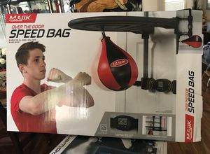 Brand New Majik Speed Bag - Punching Bag for Sale in Garland, TX