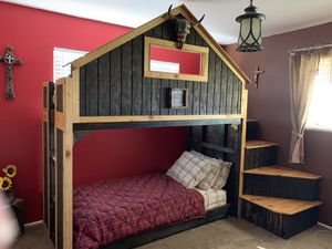Twin size bunk beds for Sale in Parlier, CA