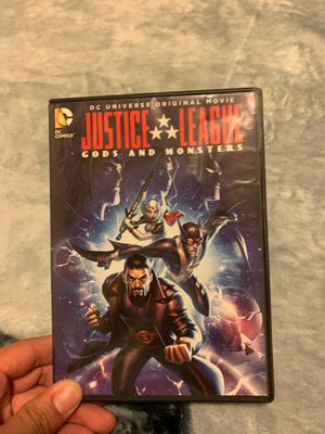 Justice league gods and monsters dvd for Sale in Portland, OR