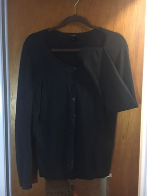Ann Taylor Cardigan Sweater size L Black for Sale in Seffner, FL
