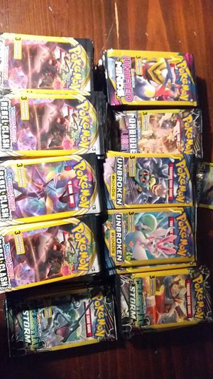 Pokemon cards 265 Dollar Tree packs Variety for Sale in Plano, TX