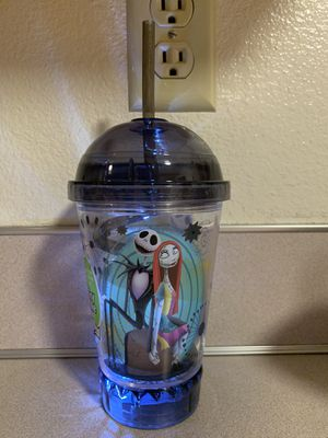 Light up nightmare before Christmas tumbler for Sale in Puyallup, WA