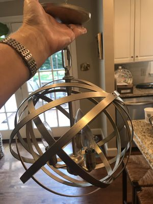 Gold Sphere Chandelier for Sale in Raleigh, NC