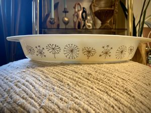 Vintage 1959 Dandelion Pattern Divided Dish for Sale in North Bend, WA