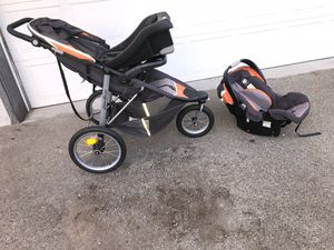 Eddie Bawer stroller & infant car seat for Sale in San Jose, CA
