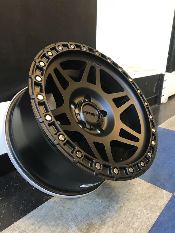 Method Race Wheels MR 312 MATTE BLACK 17 X 8.5 5X5